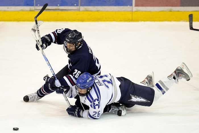 Hokejova vystroj na ľad
